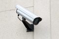 Surveillance security camera Royalty Free Stock Image