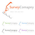 Survey logo concept symbol illustration icon Royalty Free Stock Image