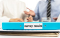Survey results Royalty Free Stock Photo