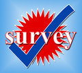 Survey Tick Shows Pass Evaluate And Approved