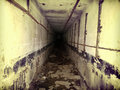 Survival underground tunnel and bunker Apocalypse doomsday Royalty Free Stock Photo