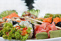 Sushi Assorted Royalty Free Stock Image