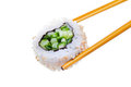 Sushi avacado Royalty Free Stock Image