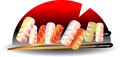 Sushi business Royalty Free Stock Photo