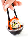 Sushi (California Roll) Royalty Free Stock Images