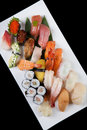 Sushi combination Stock Image