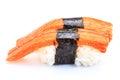 Sushi crab stick Royalty Free Stock Photo