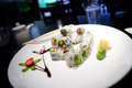 Sushi Dish Royalty Free Stock Photo