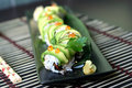 Sushi dragon roll Stock Photo