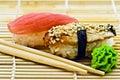 Sushi Eel and Tuna Royalty Free Stock Photo