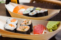 image photo : Fresh sushi