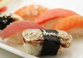 Sushi. good japanese food. Royalty Free Stock Photo