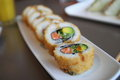 Sushi Hot Roll Royalty Free Stock Photo