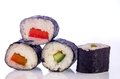 Sushi Japanese dishes Royalty Free Stock Photo