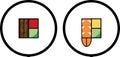 Sushi Logo Design Set