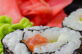 Sushi, rice, food, fish, seaweed, japanese, eating, culture Royalty Free Stock Photo