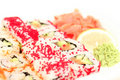 Sushi roll assortment Stock Photo