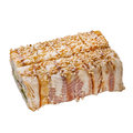 Sushi roll with sesame and eel Royalty Free Stock Image
