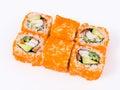 Sushi rolls california Stock Images