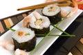 Sushi, sashimi Stock Photos