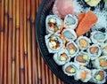 Sushi and Sashimi Platter Royalty Free Stock Photo