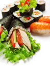 Sushi Set Royalty Free Stock Photos