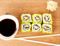 Sushi Set background Royalty Free Stock Photos