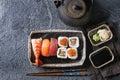 Sushi Set nigiri and rolls Royalty Free Stock Photo