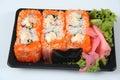 Sushi to go Royalty Free Stock Photo
