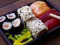 Sushi tray Royalty Free Stock Photo