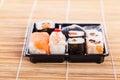 Sushi tray Royalty Free Stock Photo