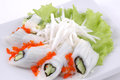 Sushi vegetables Royalty Free Stock Photo