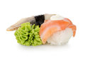 Sushi and wasabi  Stock Photos