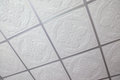 Suspended ceiling texture and background Royalty Free Stock Images