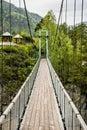 Suspension Bridge To Monastery...