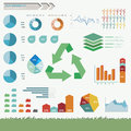 Sustainability infographic vector and eco friendly set in Stock Photos