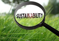 Sustainability Royalty Free Stock Photo