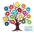 Sustainable Development Global Goals. Corporate social responsibility Royalty Free Stock Photo
