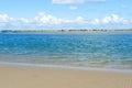 Sutton beach howth peninsula ireland Royalty Free Stock Photography