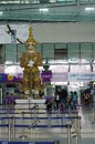 Suvarnabhumi bangkok airport in thailand asia Stock Photo