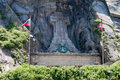 Suvorov monument in Switzerland in Andermatt.Teufe Royalty Free Stock Photo