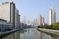 Suzhou creek shanghai on march in china or soochow also called wusong river is a river that passes through the Stock Photo