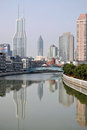 Suzhou creek shanghai on march in china or soochow also called wusong river is a river that passes through the Stock Images