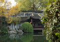 Suzhou garden is refers to the chinese city of suzhou landscape architecture mainly private gardens began in the spring and autumn Stock Photos