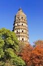 Suzhou tiger hill Royalty Free Stock Photo
