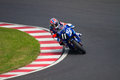 SUZUKA, JAPAN July 29. Rider of F.C.C. TSR Honda Royalty Free Stock Images