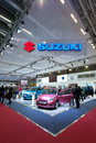 Suzuki cars at Paris Motor Show 2012 Royalty Free Stock Images