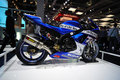 Suzuki GSX-R 750 Challenge at Frankfurt Auto Salon Royalty Free Stock Image