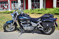Suzuki VZ 800 Marauder chopper bike Royalty Free Stock Photo