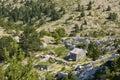 Sv. Jure, Biokovo Mountains Royalty Free Stock Photo